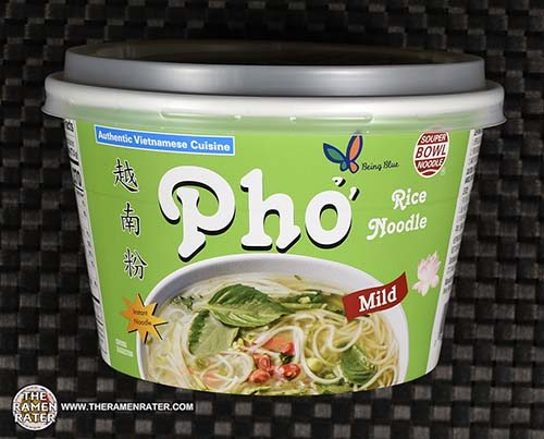 #3684: Being Blue Souper Bowl Noodle Pho Rice Noodle Mild - South Korea