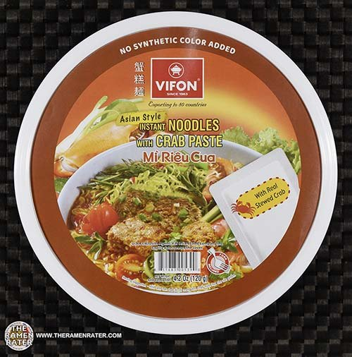 #3746: Vifon Asian Style Instant Noodles With Crab Paste - Vietnam