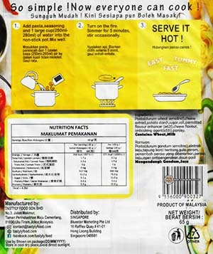 #3736: Tasty.ly Quick Pasta Cheezy - Malaysia