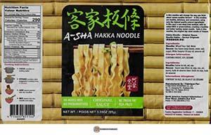 #3756: A-Sha Hakka Noodle Original Sauce - Taiwan