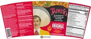 #3757: Tapatio Ramen Noodle Soup Original Flavor Cup - United States