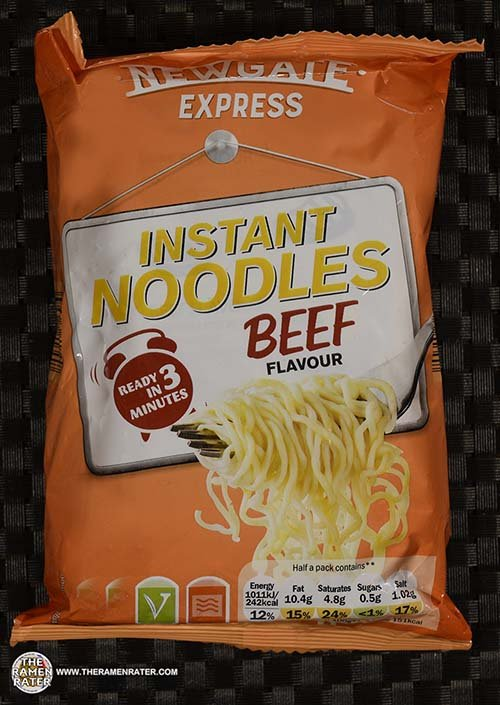 #3765: Newgate Express Instant Noodles Beef Flavour - Ireland