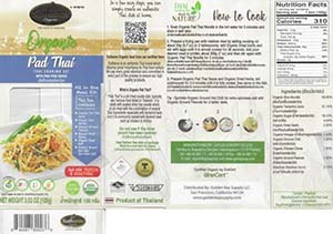 #3804: Sutharos Organic Pad Thai - Thailand
