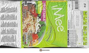 #3806: iMee Instant Noodles Vegetable Flavour - Thailand