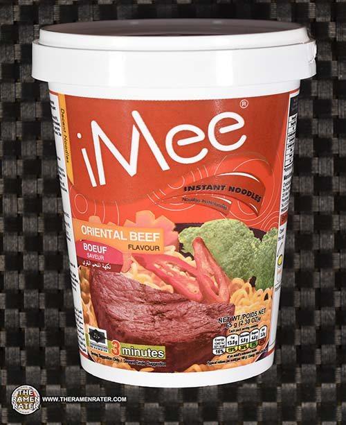 #3808: iMee Instant Noodles Oriental Beef Flavor - Thailand
