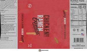 #3790: Ramen Express By Chef Woo Chicken Flavor - United States