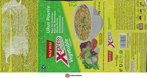 #3795: Wai Wai X-Press Noodle Vegetable Flavour - Serbia