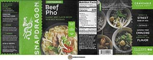 #3824: Snapdragon Vietnamese Beef Pho - United States