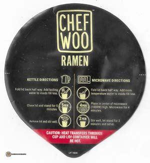 #3825: Chef Woo Sweet Chili Togarashi Ramen - United States