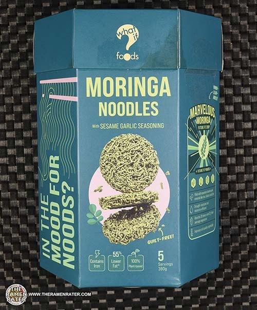 #3826: WhatIf? Foods Moringa Noodles With Sesame Garlic Seasoning - Singapore