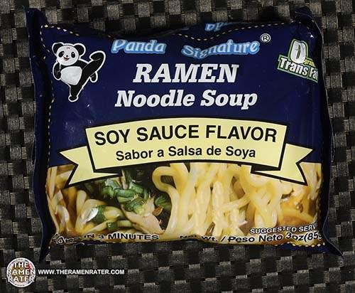 #3842: Panda Signature Ramen Noodle Soup Soy Sauce Flavor - United States