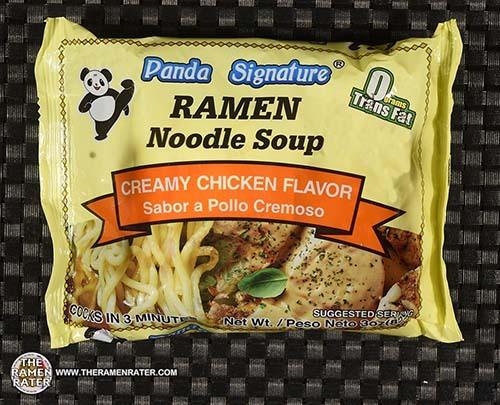 #3836: Panda Signature Ramen Noodle Soup Creamy Chicken Flavor - United States