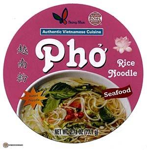 #3867: Being Blue Souper Bowl Noodle Pho Rice Noodle Seafood - South Korea