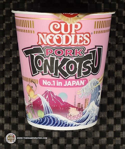 #3869: Nissin Cup Noodles Pork Tonkotsu - Germany