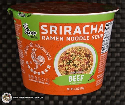 #3925: Aces + Huy Fong Sriracha Ramen Noodle Soup - United States