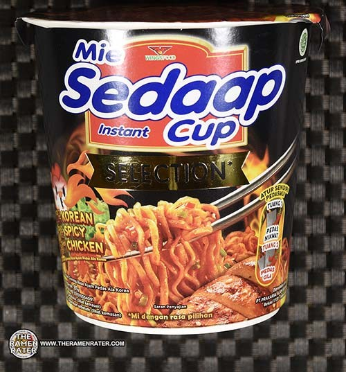#3885: Mie Sedaap Selection Korean Spicy Chicken - Indonesia