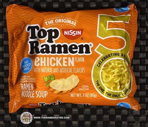 #3945: Nissin Top Ramen Chicken Ramen Noodle Soup - United States