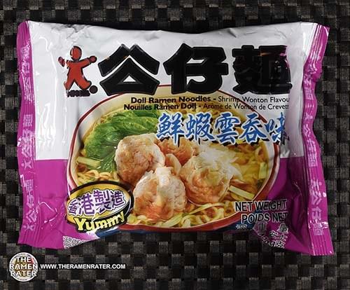 #3930: Doll Ramen Noodles Shrimp Wonton Flavour - Hong Kong