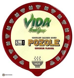 #3964: Vida Food Group Pozole Chicken Flavor Instant Ramen Soup - United States