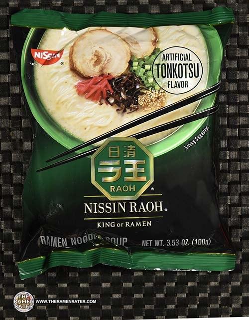 #3973: Nissin Raoh Artificial Tonkotsu Flavor Ramen Noodle Soup - United States