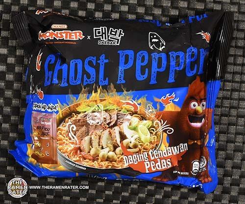 #3982: Mamee Monster x Daebak Ghost Pepper Daging Cendawan Pedas - Malaysia