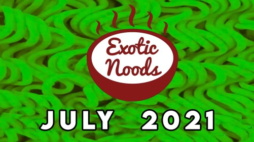Unboxing The July 2021 Exotic Noods Ramen Noodle Subscription Box + Coupon Code!