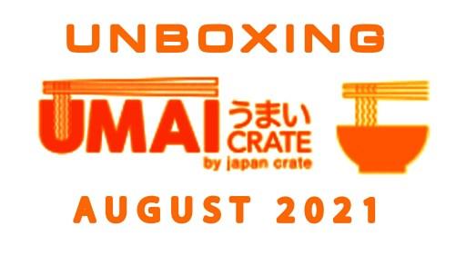 Umai Crate Japanese Instant Ramen Noodle Subscription Box - August2021
