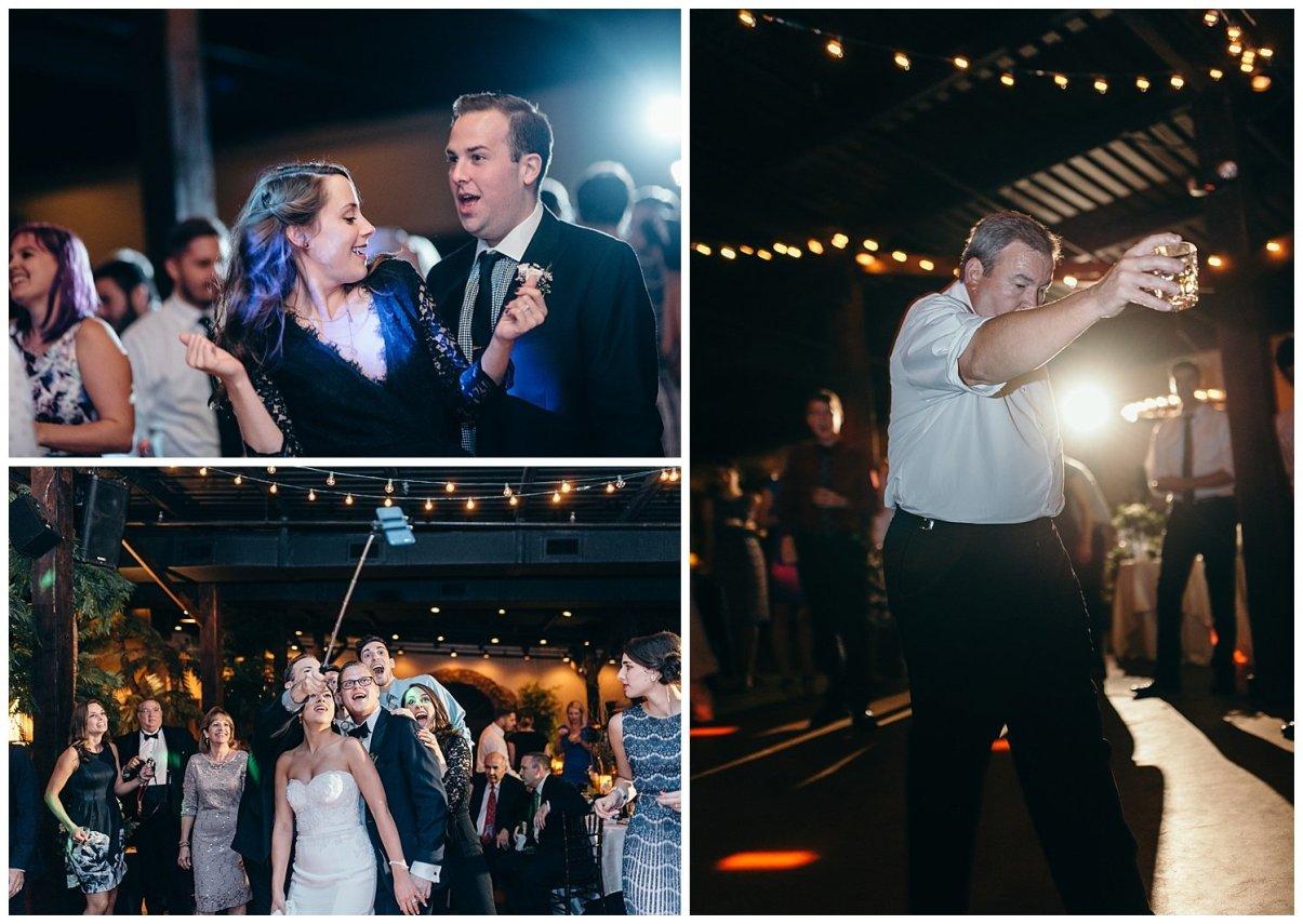 Guests dancing at Agave Estates Reception