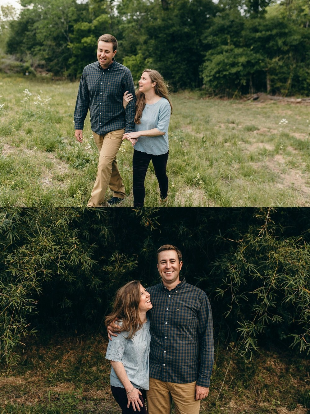 using 1776 park as a substitute for swampy engagement pictures