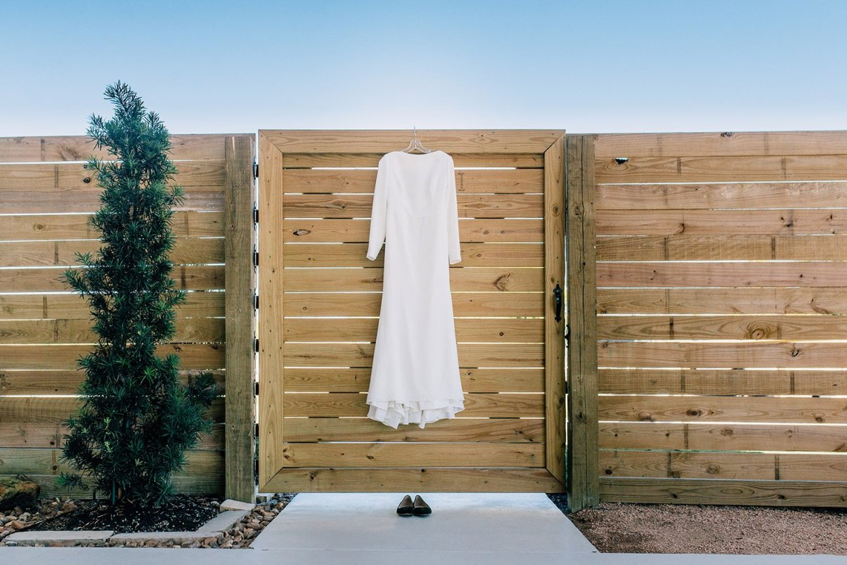 mikaella wedding gown detail shot
