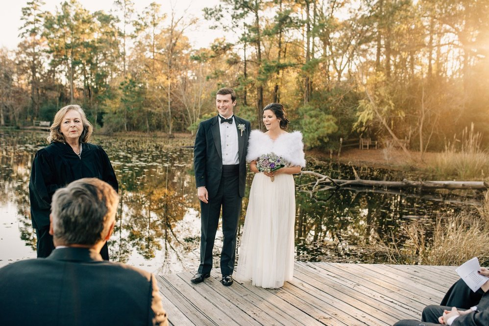 Elopement at the Houston Arboretum