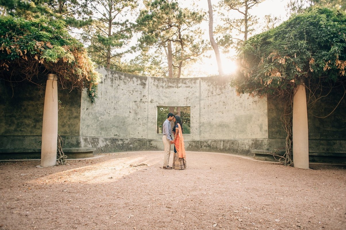 engagement pictures at hermann park
