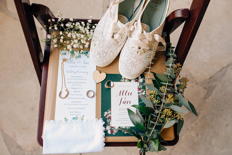wedding detail layflat