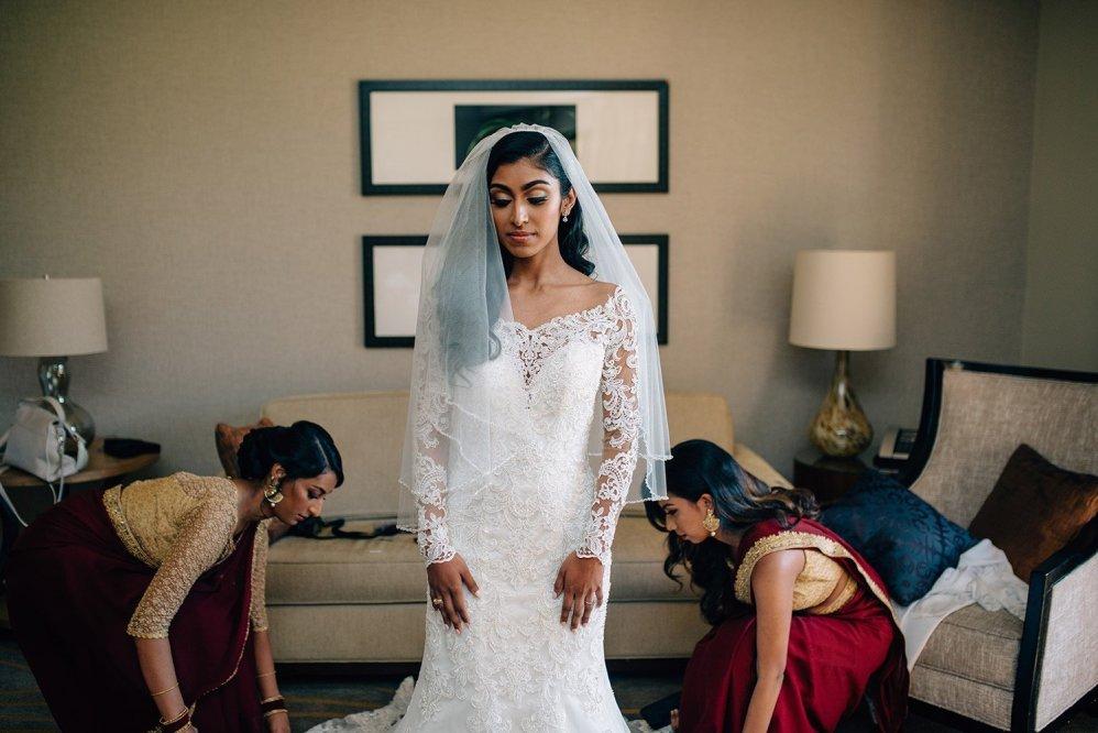 bride final preparations