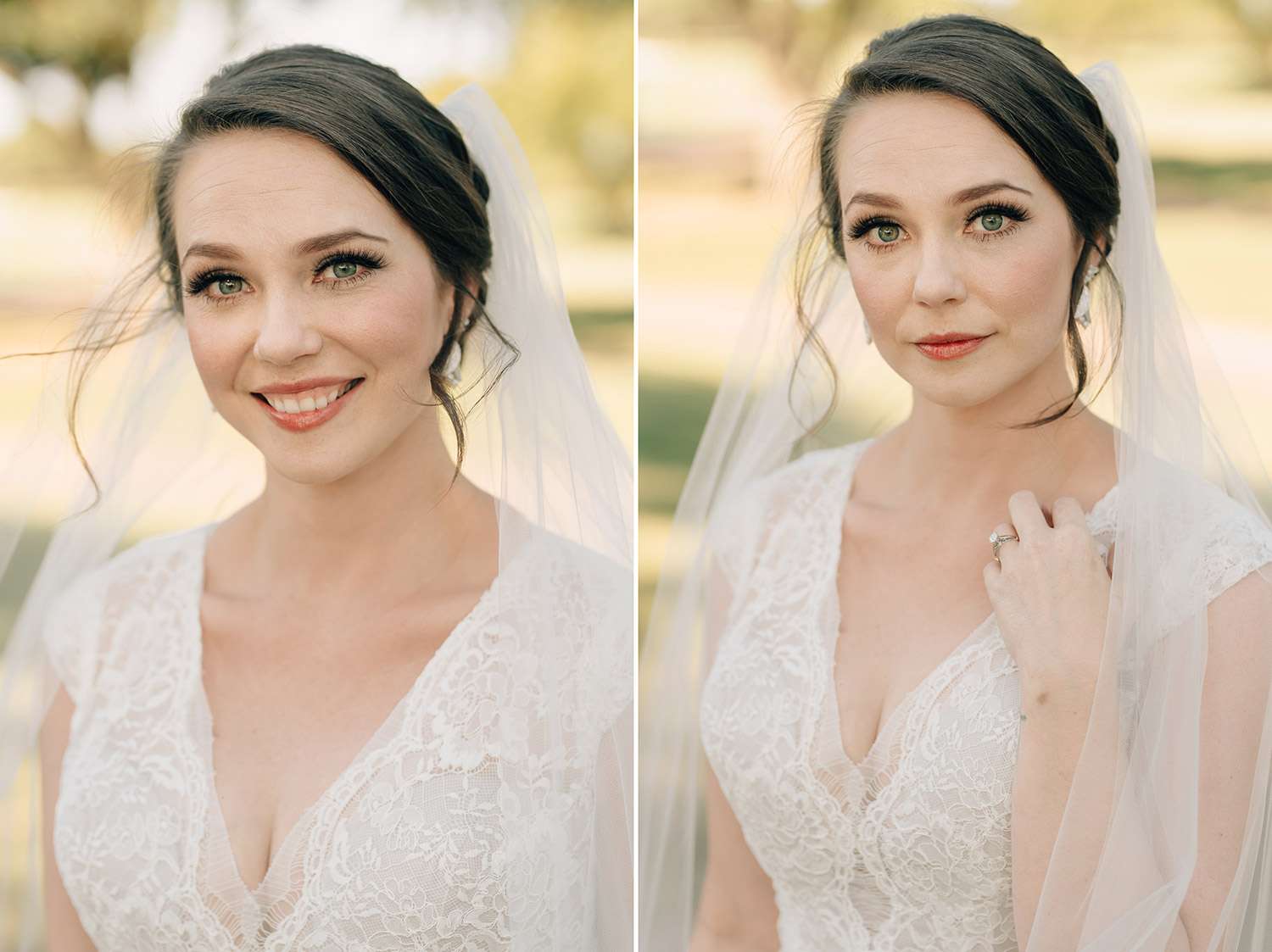bridal portrait at sweetwater country club