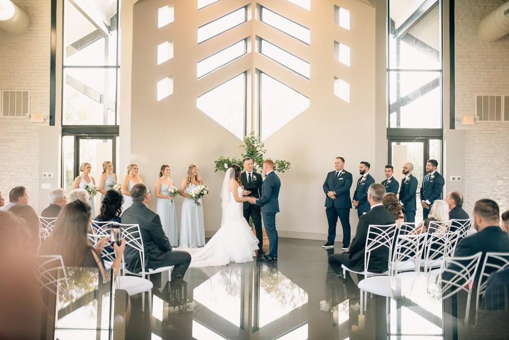 wedding ceremony at jennings trace