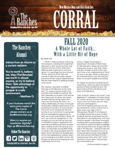Fall 2020 Corral