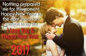 Cute Love messages for new year with images