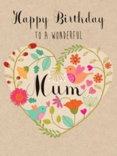Cute Happy Birthday Mum Quotes from daughter pics