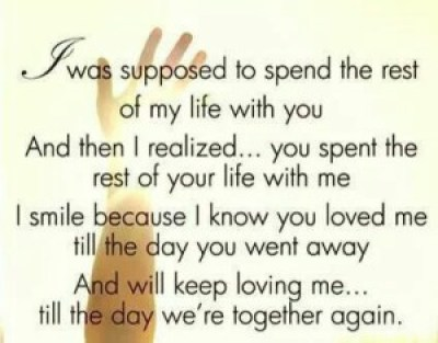 Quotes about Losing your loved Husband Images