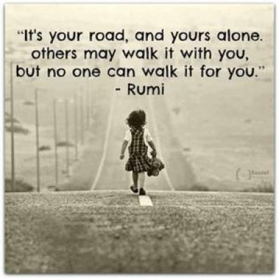 Road QUotes by Rumi