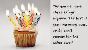 funny birthday wishes for older man