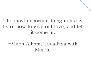 Inspirational Quotes from Tuesdays with Morrie