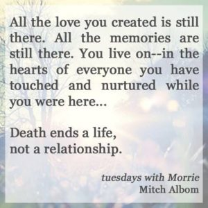 Tuesdays with Morrie Quotes Emotions