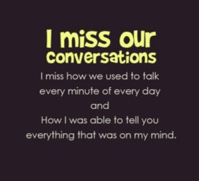 I miss you for her quotes