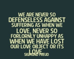 Sigmund Freud quotes about love
