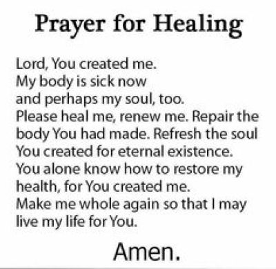 Prayer Quote for Healing