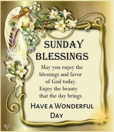 Sunday Blessings Wishes