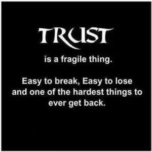 no one is trustworthy quotes