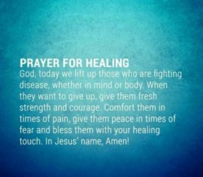 prayer for healing quotes inner strength